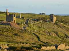 West Wheal Owles and Wheal Edward Sunset