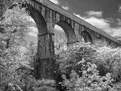 Treffry Viaduct Infrared