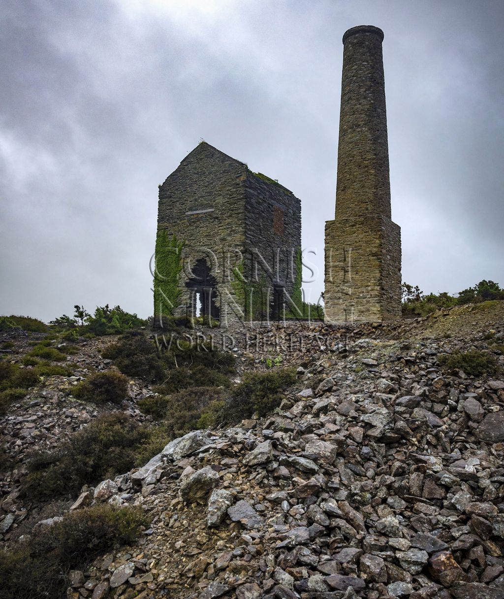 Pearl Shaft Engine House, Mona Mine, Anglesey Wales